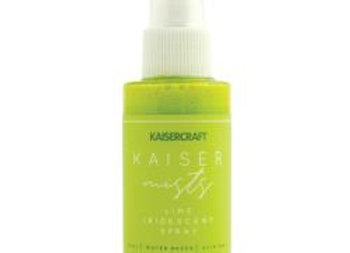 Kaisercraft iridescent spray Lime