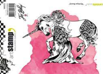 Carabelle Mystique Beauty stamp