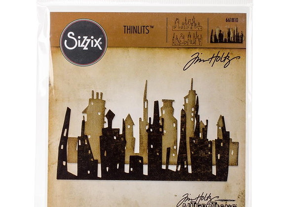 Sizzix Thinlits Tim Holts Skyline Cityscape die cuts