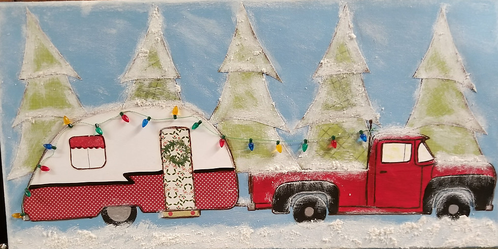 Holiday Truck and Camper Canvas