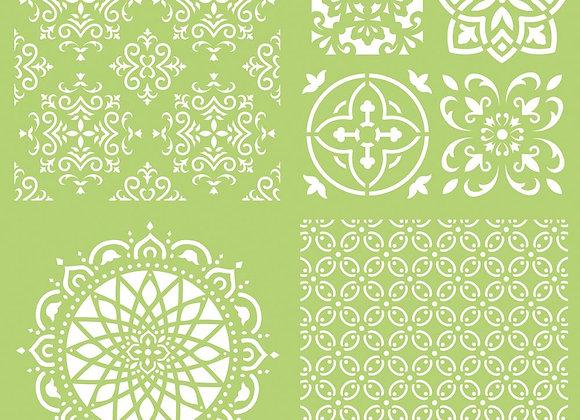 Intricate tiles 12 x 12