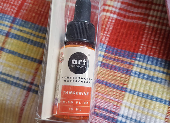 Watercolor Concentrate .5oz-Tangerine