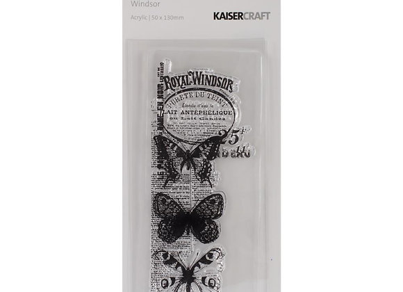 "Texture Clear Stamps 2""X5"" Kaiser craft Windsor"