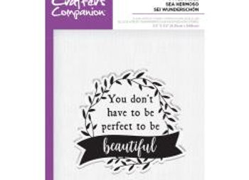 Be Beautiful stamp