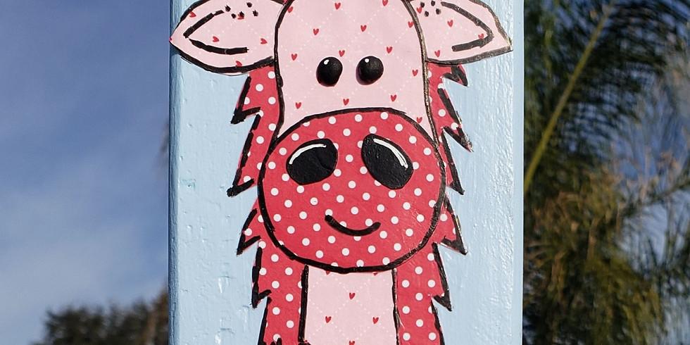 Valentine's Giraffe