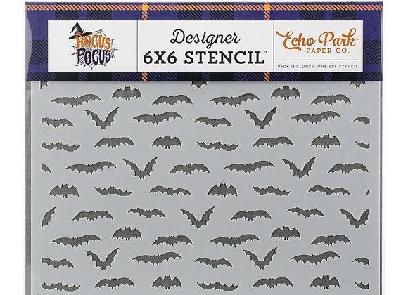 "Echo Park Stencil 6""X6"""