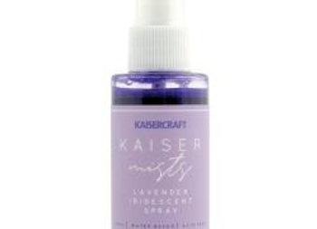 Kaisercraft iridescent spray Lavender