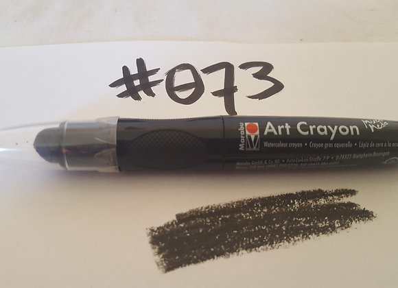Marabu Creative Art Crayon Black