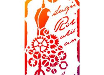 Dress Mummy Stencil
