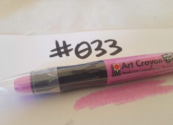 Marabu Creative Art Crayon Rose Pink