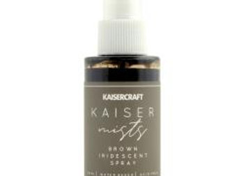 Kaisercraft iridescent spray Brown