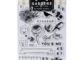 Gingham Gardens stamp