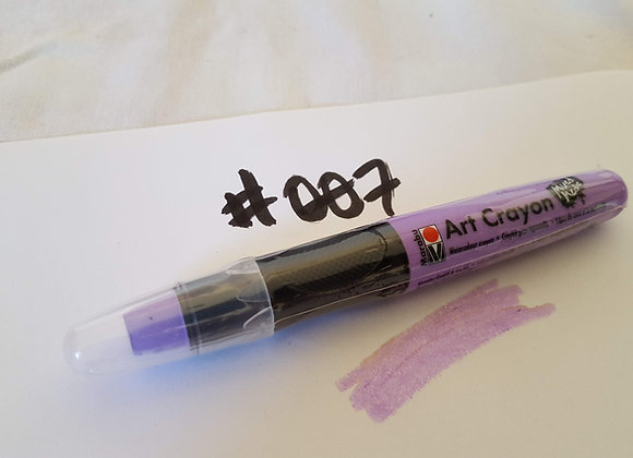 Marabu Creative Art Crayon Lavender