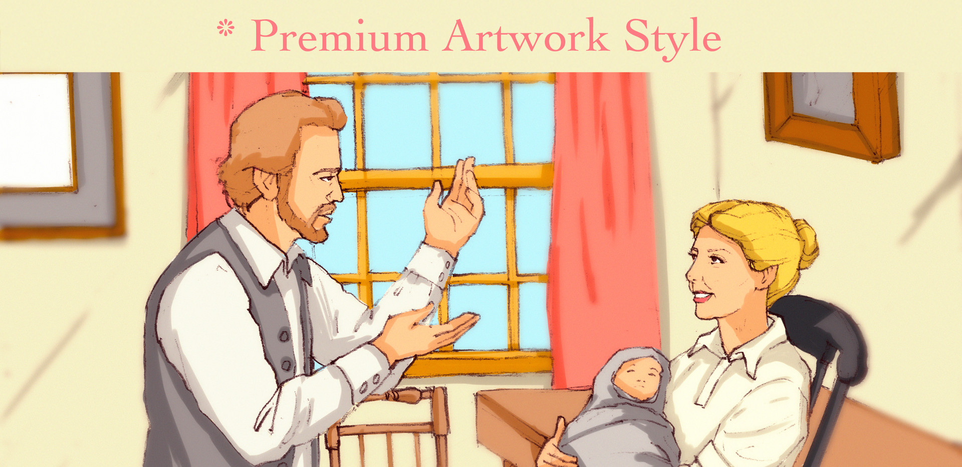 3. Almost Real - Premium Art Style