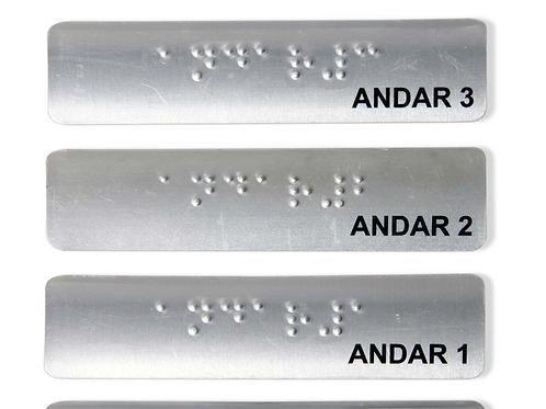 Braille para Pasamanos