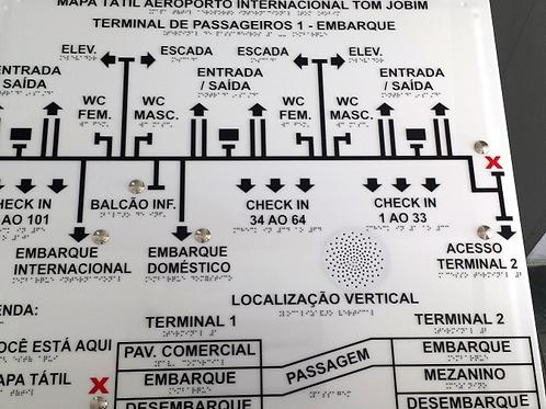 Mapa táctil electrónico
