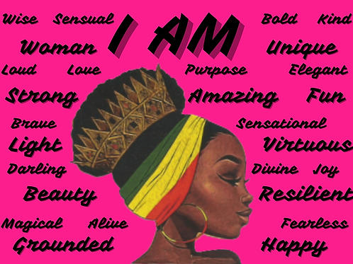 """""""I AM"""" Greeting Cards"""