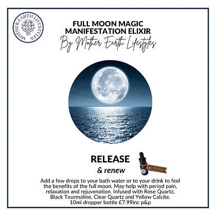 Full Moon Magic Manifestation Elixir
