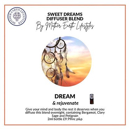 Sweet Dreams Diffuser Blend from Mother Earth Lif