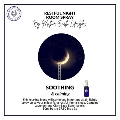 Restful Night Room Spray by Mother Earth Lifestyles