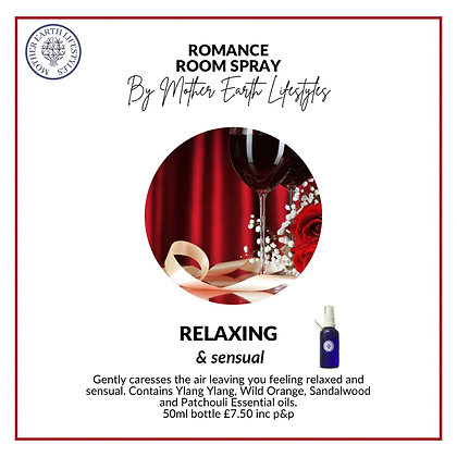 Romance Room Spray by Mother Earth Lifestyles