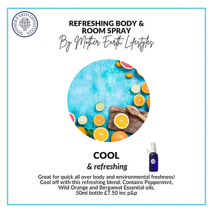 Refreshing Room & Body Spray by Mother Earth Lifestyles