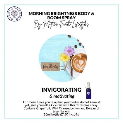 Morning Brightness Body Spray by Mother Earth Lifestyles