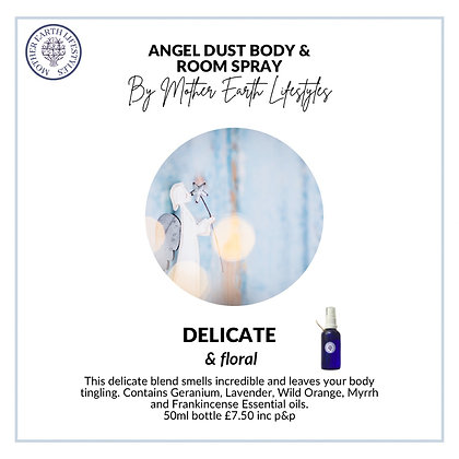 Angel Dust Room & Body Spray by Mother Earth Lifestyles