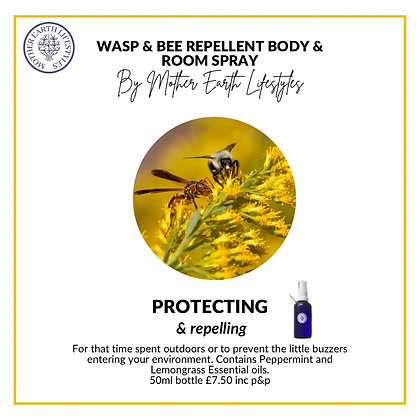 Wasp & Bee Repellent by Mother Earth Lifestyles
