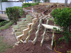 Deck Stairs Before