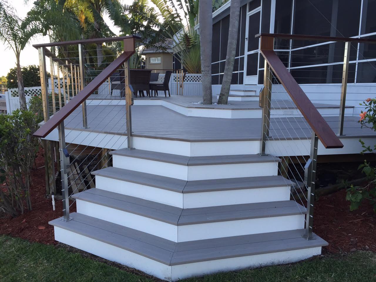 Apollo Beach Deck Stairs