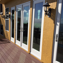 doors to deck