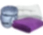 Blankets, sleeping bags, underlays, duvets,