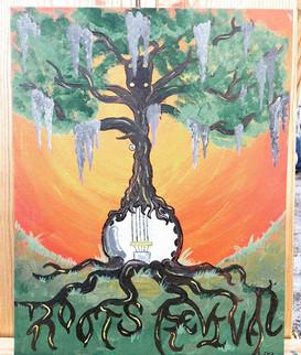 Roots Revial Banjo Tree!! #suwanneeroots