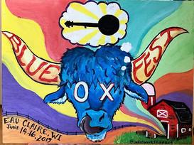 More Ox ART! #blueox #blueoxmusicfestiva
