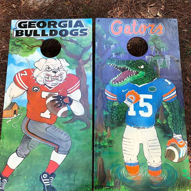 Recently commissioned Gators Vs Bulldogs