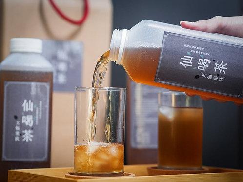 仙喝茶-天仙果飲 ( 900MLx6瓶/箱)