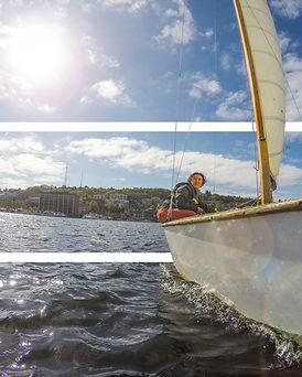 Sailing 3D photo