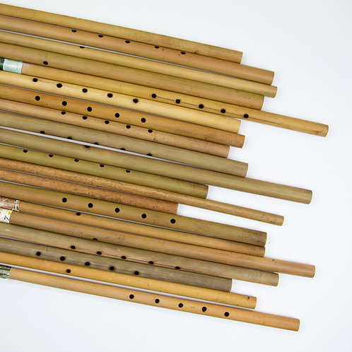 Raj Nrov Tsis Zoo | Repurposed Flutes