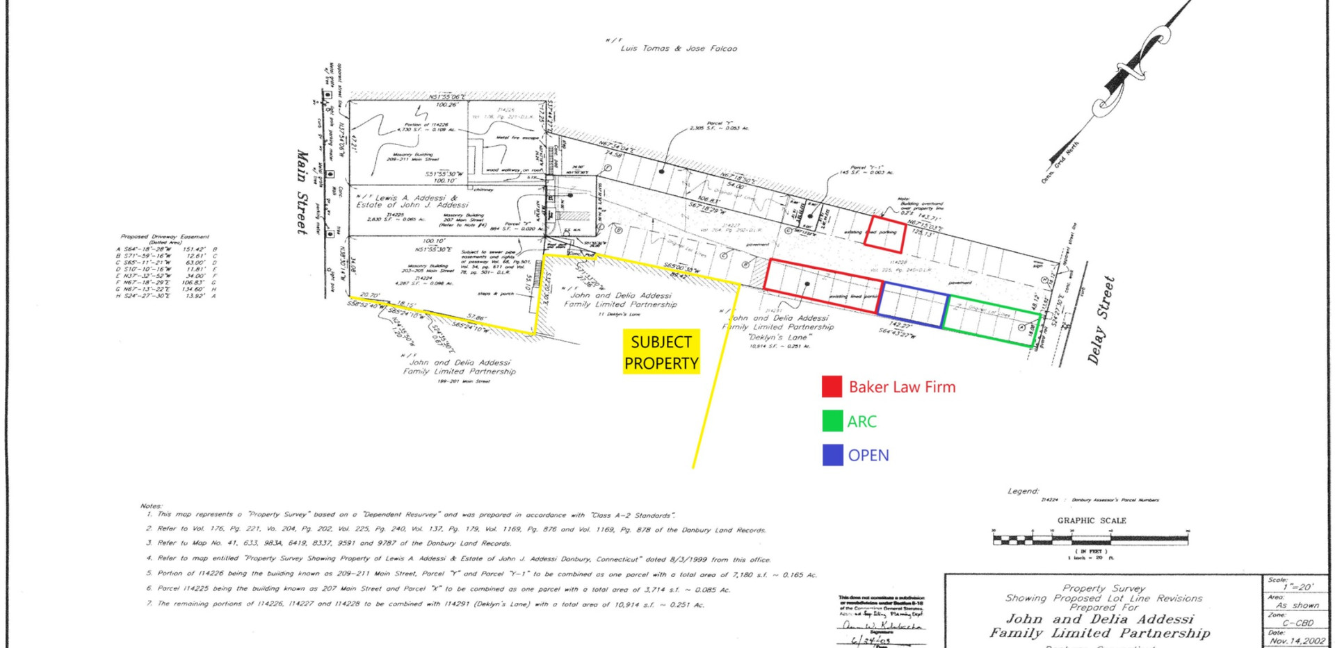 199-201 Main Street Parking Plan