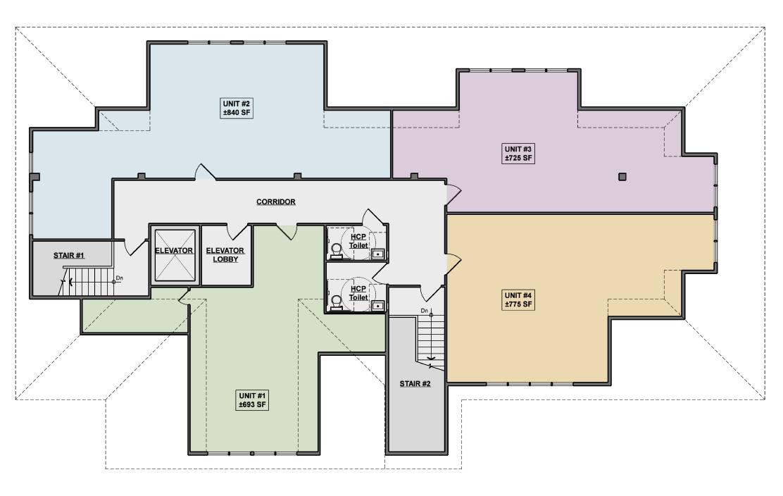 162 Danbury Road - Alt. Floor Plan