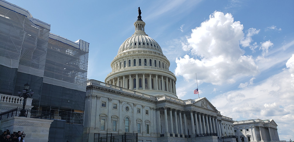 A view of our nation's capitol.