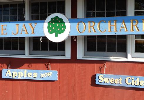 Blue Jay Orchards - Market Sign