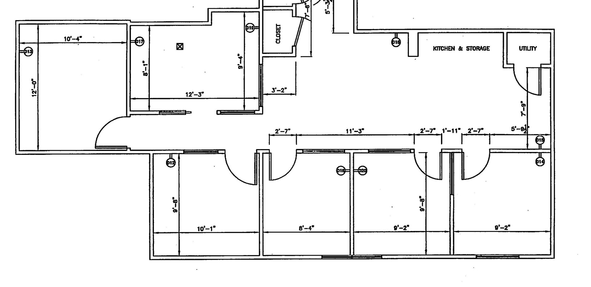 162 Danbury Road - First Floor Suite Plan