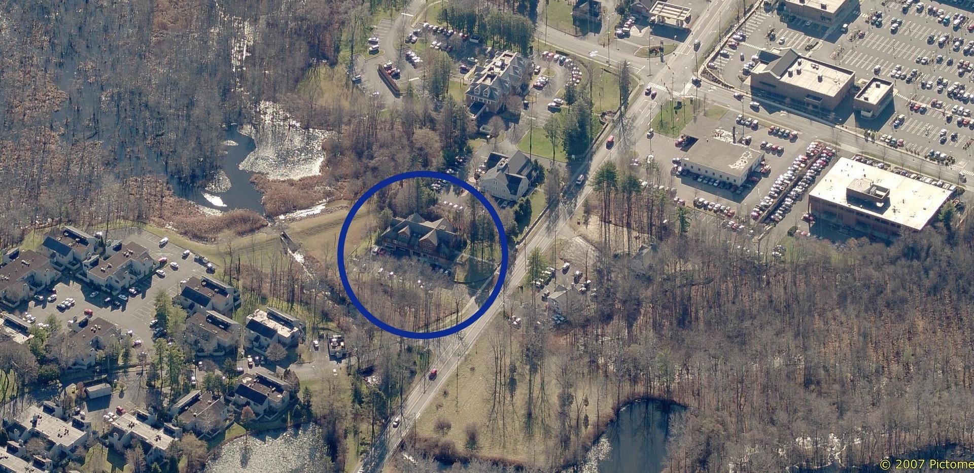 162 Danbury Road - Aerial