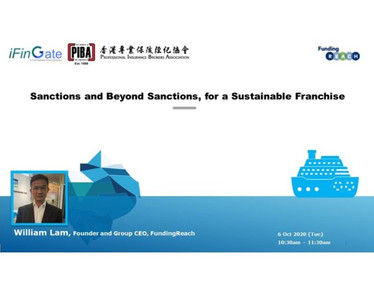 Event: Sanctions and Beyond Sanctions, for a Sustainable Franchise Webinar