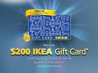 How to get a Free $200 IKEA Gift Card when you shop at Daikin e-Proshop?