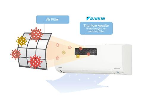 Daikin Titanium Apatite Photocatalytic Air Purifying Filter (PM 2.5)