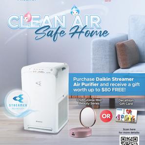 Clean Air Safe Home