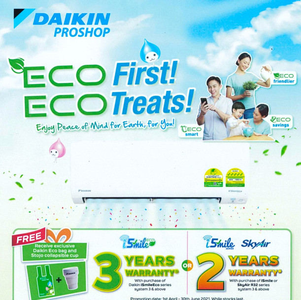 ECO First! ECO Treats!